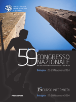 59° Congresso Nazionale SIGG Bologna 26