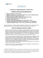 Approvati i risultati al 31 Dicembre 2013