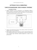elettrolisi e celle a combustibile. curve di polarizzazione. leggi di