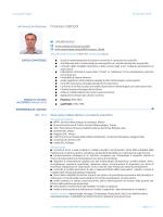 Curriculum vitae (Italiano)