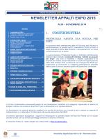 Newsletter Appalti - novembre 2014