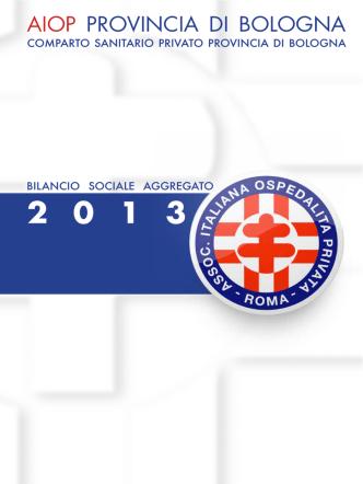 Bilancio Sociale AIOP Prov. Bologna 2013