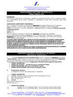 REGOLAMENTI SETTORE MASTER 2014 FIDAL FRIULI V.G.