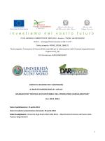 """manager per """"processi eco-sostenibili delle produzioni agroalimentari"""""""