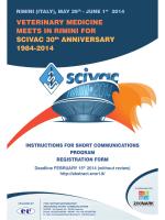 VETERINARY MEDICINE MEETS IN RIMINI FOR SCIVAC 30th