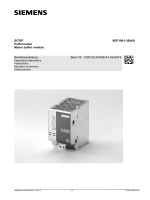 SITOP 6EP1961-3BA01 Puffermodul Mains buffer module