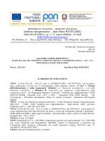 AGGIUDICAZIONE DEFINITIVA - FESR lotto 2