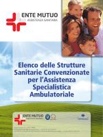 Elenco delle Strutture Sanitarie Convenzionate per l