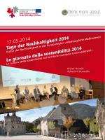 Programma del seminario - Europaregion Tirol-Südtirol
