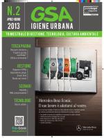 tecnologie - GSA Igiene Urbana