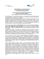 Scarica il comunicato - Istituto Europeo di Oncologia