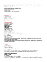 Spettacoli marzo 2014 nei teatri di FTS