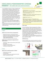 Corso Verifica Termoigrometrica dinamica 16h 2014 05