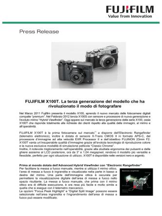 Comunicato_FUJIFILM X100T - Angelo Ferrillo Photoblog