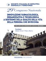 29°Congresso Nazionale - Società Italiana Geriatria Ospedale e