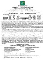 comunicato stampa giornate fai provincia di latina