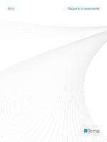 2013 Rapporto di sostenibilità
