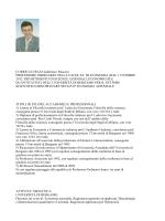 CURRICULUM di Gianfranco Rusconi PROFESSORE ORDINARIO