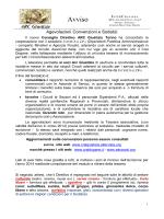 Lett Soci ArcGiustizia convenzioni Assocral - Cral Giustizia