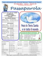 Passaparola 20 luglio 2014