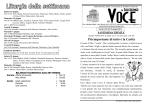 N° 23 del 15 giugno 2014 - parrocchia di Saccolongo