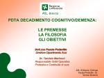 PDTA DECADIMENTO COGNITIVO/DEMENZA