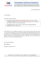 Graduatoria - ASSOCIAZIONE FCS