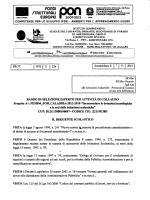 BANDO DI SELEZIONE ESPERTO PER ATTIVITÀ DI COLLAUDO
