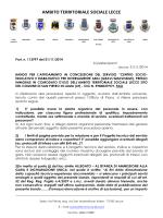 Faq - Comune di Lecce