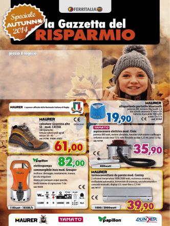 Autunno 2014 - Nuova Ferramenta Valle Martella Zagarolo