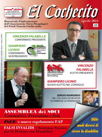 Cochecito - 2014 N. 55 - MARZO - Associazione Tetra Paraplegici fvg