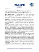 Nuove installazioni coste italiane, Montenegro e Irak