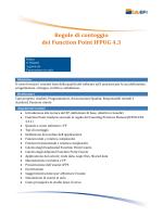 Regole di conteggio dei Function Point IFPUG 4.3