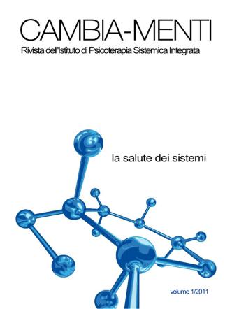 Cambiamenti N 1 2011 Lo psicoterapeuta sistemico senza specchio