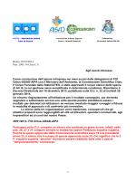 Lettera congiunta AISAD, AIPA e FOI