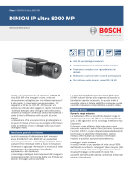DINION IP ultra 8000 MP - Bosch Security Systems
