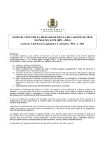 Relazione fine mandato anno 2009-2014
