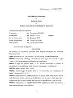 Sezione regionale di controllo per la Basilicata