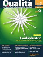 Estratto Sistemi 9001-2015 Qualita_n3_2014
