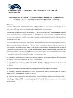 trasporto pubblico locale: contributo regioni a consultazione autorita
