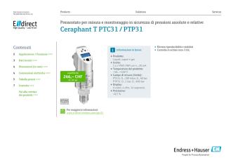 Ceraphant T PTC31 / PTP31 - E-direct