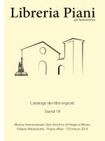 Libreria Piani - Mostra Libri antichi e di pregio a Milano