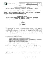 Oggetto: POR Marche Ob. 2 2007/13–Asse 4