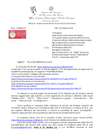Nota accomp - Ufficio XI - Ambito territoriale per la provincia di Forlì