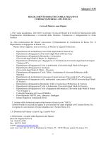 regolamento dei master - Architettura