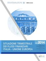 I Trimestre 2014 - Situazione trimestrale dei flussi finanziari