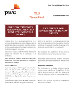 Download TLS Tax NewsAlert (25 settembre 2014)