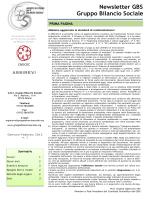 Newsletter n. 1 del 2013 - Gruppo Bilancio Sociale