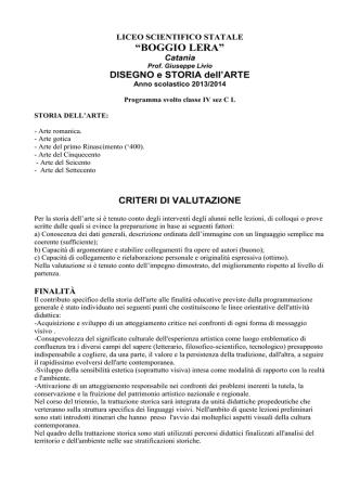 4C - Liceo scientifico Boggio Lera
