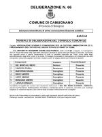 DELIBERAZIONE N. 66 - Comune di Camugnano